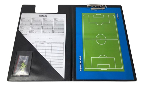 Pizarra Futbol Magnetica! Carpeta + Pizarra Doble + Fibron..