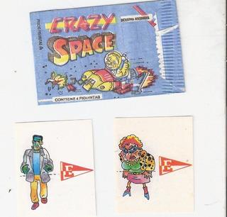 Lote 2 Figuritas Crazy Space - Estudiantes Lp