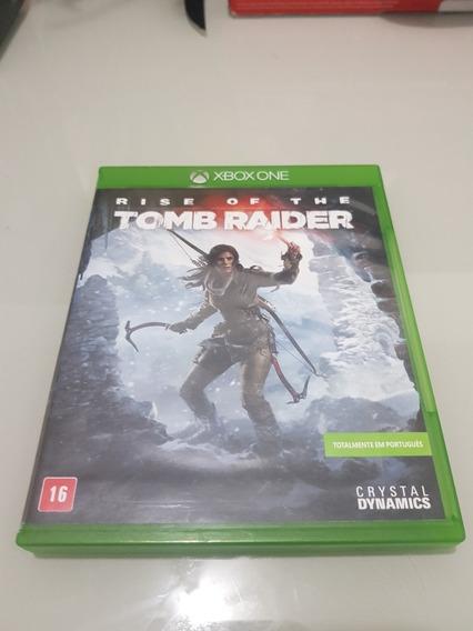 Rise Of The Tomb Raider Xbox One Midia Fisica Portugues