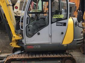 Mhs- Mini Excavadora Wacker 3503 3,5 Toneladas 2017 Cabina