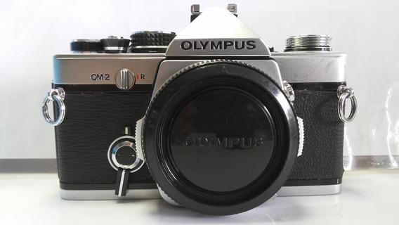 Olympus Om - 2 Com Lente 50mm 1.1,8 Muito Nova!!!!