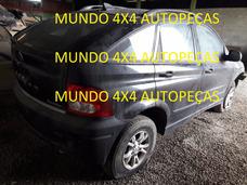 Sucata Da Actyon 2.3 A230 G. 2011 Com Motor E Cambio E Peças