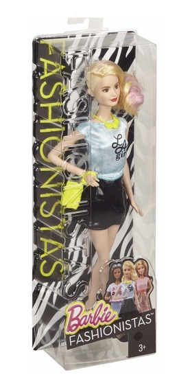 Boneca Barbie Fashionista La Girl Cjy43- Rara E Ultima