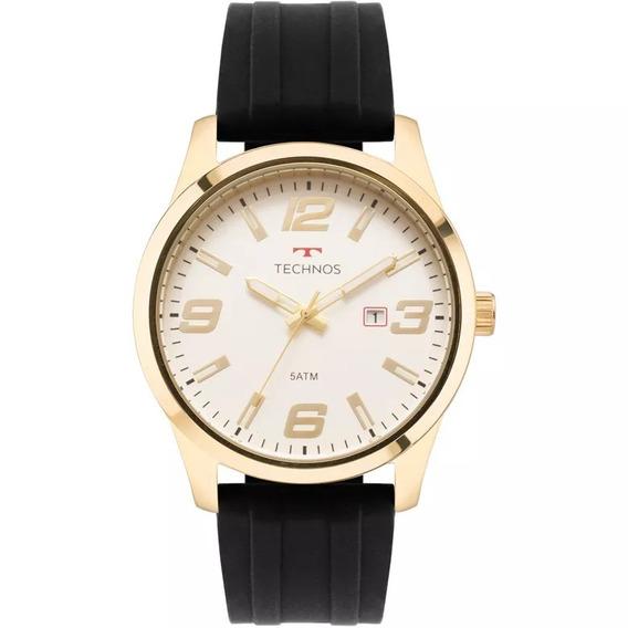 Relógio Technos Masculino 2115mom/8b Racer Dourado
