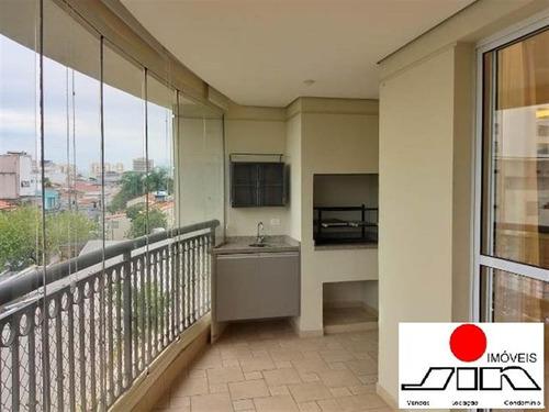 Imagem 1 de 30 de Apartamento Impecável Na Mooca Com 142 M², Sacada Gourmet, 3 Suítes E 2 Vagas De Garagem. - 14587