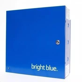 Controle De Acesso Biométrico 32 Portas Schlage Bright Blue