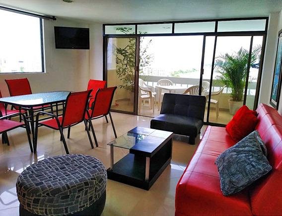 Vendo Apartamento Amoblado El Laguito, Vista Al Mar