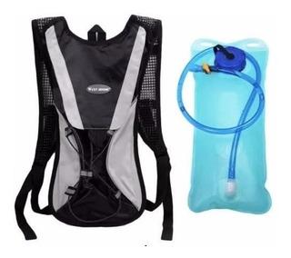 Mochila Hidratação Com Bolsa De Água 2 Litros Térmica