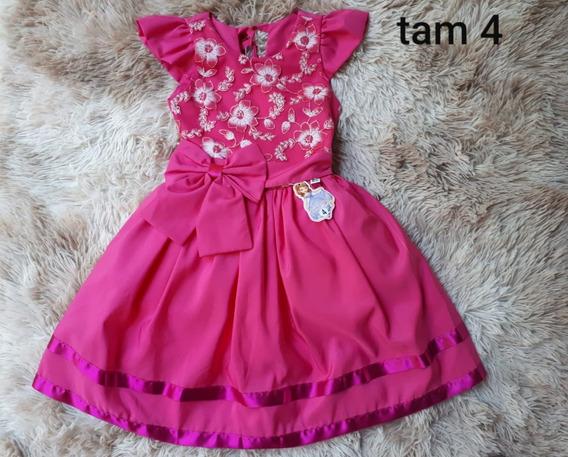 Vestido Festa Pink