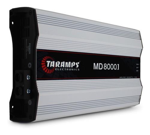 Imagem 1 de 4 de Módulo Taramps Md-8000 8000 Rms Mono Digital 1 Ohm 2 Ohms