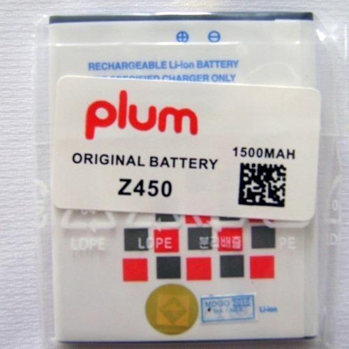 Vendo Bateria De Plum Z450 100% Originales