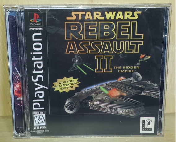 Star Wars Rebel Assault 2 Patch Ps1,ps2 E Ps3