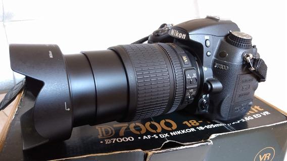 Câmera Nikon D7000 Em Ótimo Estado