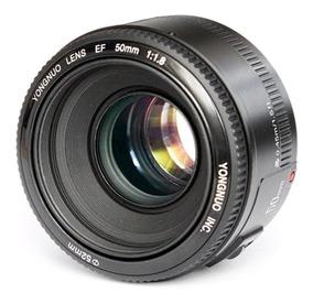 Lente De Foco Fixo Yongnuo Yn Ef 50mm F / 1.8 Para Canon