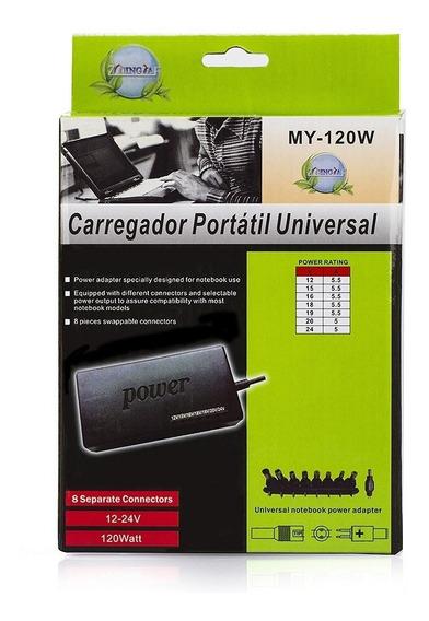 Carregador Portátil Universal Para Notebook My-120w