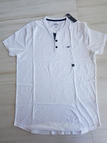 Camisa M Branca Hollister Importada Dos Eua