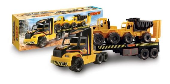 Camion Gigante Constructor 3 Duravit + Tractor + Volcador