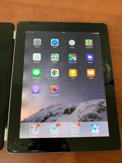 iPad 2 Wi-fi E 3g Com Tela Quebrada