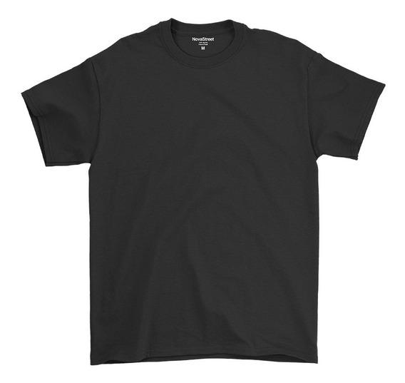 Kit Com 2 Camisetas Masculinas Básicas Algodão 30.1 Premium