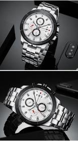 Relógio Masculino Curren Original Men Watch Top