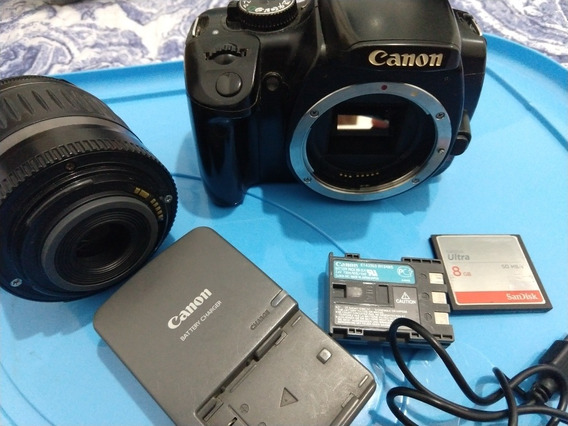 Câmera Canon Rebel Xti + Itens