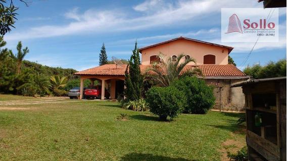 Chácara Com 4 Dormitórios (sendo 3 Suítes), 290m² - Chácara Do Pinhal - Cabreúva/sp - Ch0003