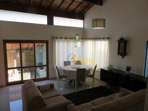 Casa Com 3 Dormitórios À Venda, 215 M² Por R$ 860.000,00 - Condomínio Itatiba Country Club - Itatiba/sp - Ca1021