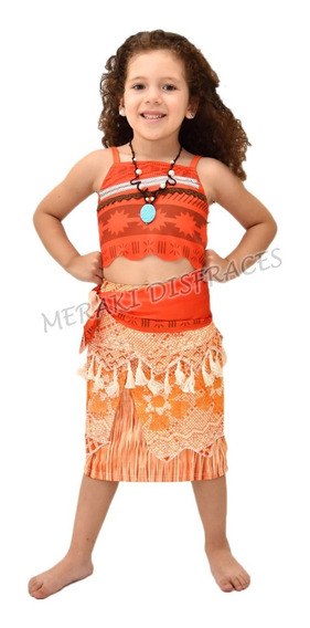 Disfraz Para Niña De Moana Halloween Hawaii