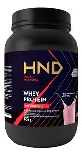 Whey Protein Hinode Sabor Morango