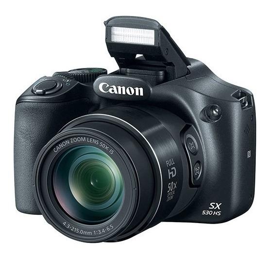 Câmera Canon Sx530hs Powershot Hs 50x - Frete Grátis