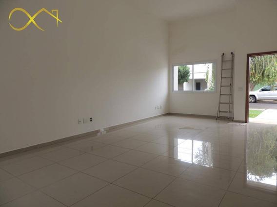 Casa Residencial Com 3 Dormitórios, 180 M²- Condomínio Campos Do Conde Ii - Paulínia/sp - Ca0381