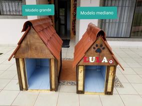 Casa Para Perro Estilo Rustico / Modelo Mediano