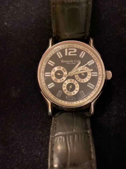Kenneth Cole Newyork P93-05 Kc1230 Relógio Masculino