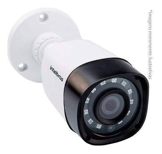 Câmera Analóg Cftv Visão Noite Intelbras Multihd 1120b Tf