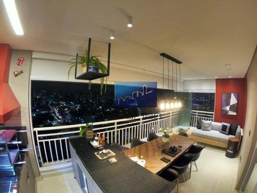 Apartamento Com 2 Dormitórios À Venda, 100 M² Por R$ 1.280.000,00 - Vila Prudente (zona Leste) - São Paulo/sp - Ap1026