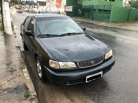 Corolla Xei 1.8 Aut 2001 Couro Carro De Garagem Km Baixa