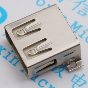 20x Conector Jack Usb 2.0 Tipo A Fêmea 4 Pinos Smd