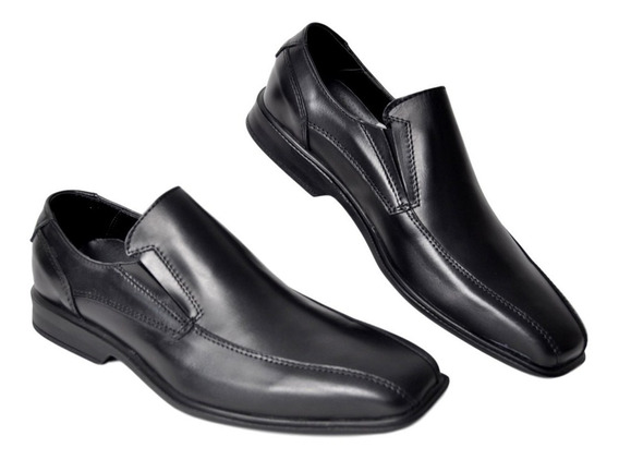 Zapato Hombre De Cuero Vestir Campus 4001 Elástico Cuotas