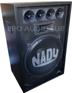 Kit 2 Bafle Nady 15 Pasivo N15 300w + Consola Potenciada Usb