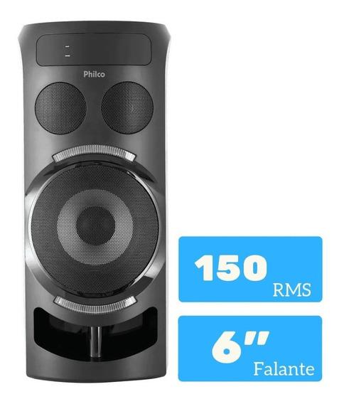 Caixa Acústica Philco 150w Rms De Potência C/bateria Interna