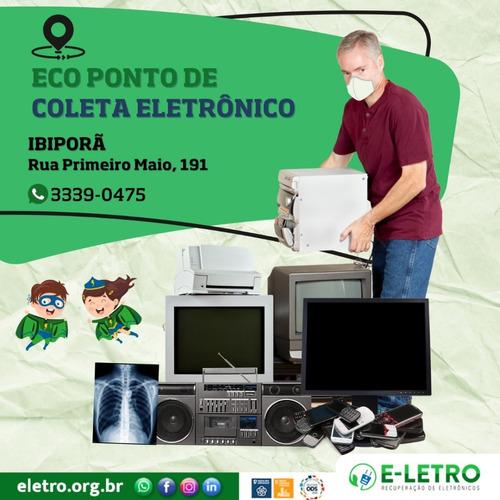 Coleta De Lixo Eletrônico Em Ibiporã