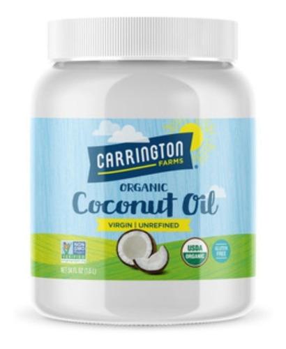 Aceite De Coco Carrington Farms 1.53k - kg a $92900