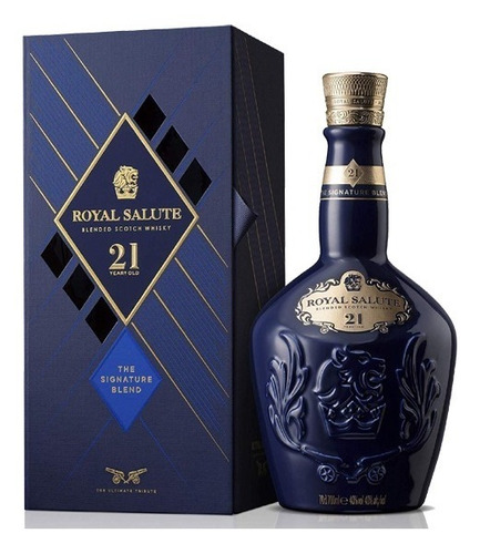 Whisky Chivas Royal Salute 21 Anos - 700ml