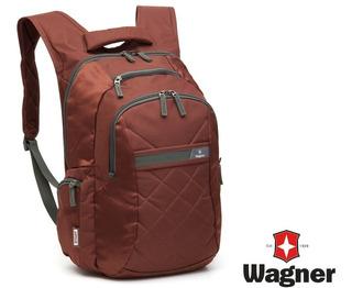 Mochila Portanotebook Premium Wagner Stadt Importada 29lts