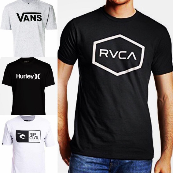 Remeras Vans Rvca - Pack X 4