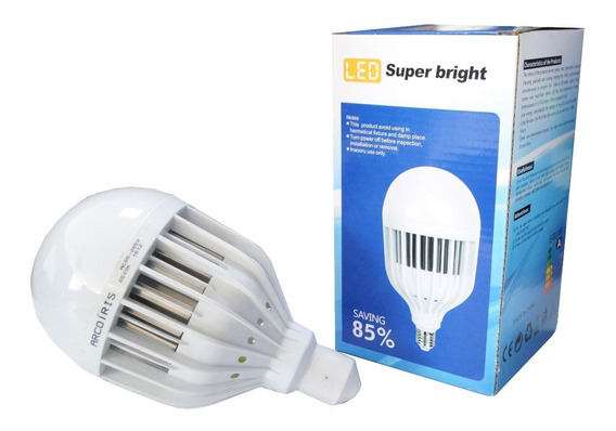 Lâmpada De Led Bulbo 40w E27 Branco Frio Alta Economia 6400k