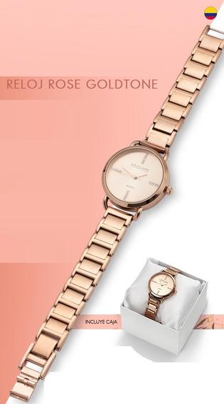 Reloj Rose Gold Para Dama
