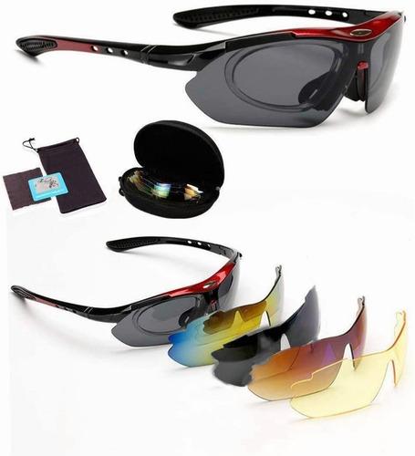 Imagen 1 de 7 de Gafas Lentes De Sol Polarizadas Ciclismo Gafas De Sol