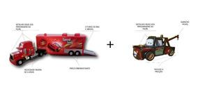 Carreta Mack Controle Remoto + Carro Matte A Fricção