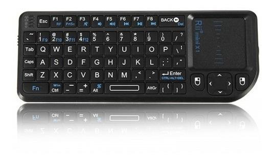 Teclado Riitek Rii Mini X1 Wireless - No Brasil - Realengo